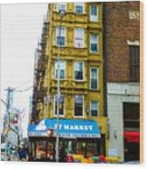 57 Market New York City Wood Print