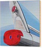 57 Pontiac Tail Fin Wood Print