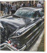 58 Rear View Wood Print