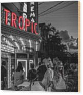 5828- Tropic Theater Wood Print