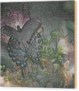 5848 2 Wood Print