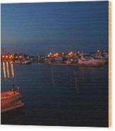 Racine Coastal Seascape - Michigan Lake In Wisconsin By Adam Asar Wood Print