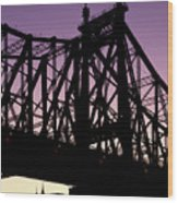 59th Street Bridge Wood Print