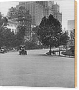 59th Street By Central Park Wood Print