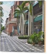 5th Avenue South Naples Florida Wood Print