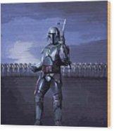 2 Star Wars Art Wood Print