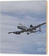 A U.s. Air Force A-10 Thunderbolt II Wood Print