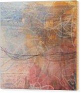 Abstrait  Wood Print