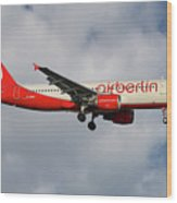 Air Berlin Airbus A320-214 Wood Print