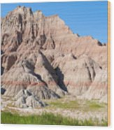 Badlands National Park South Dakota Wood Print