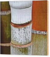 Bamboo Palm Wood Print