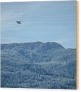Beautiful Landscapes Around Ketchikan And Tongass Forest In Alas Wood Print