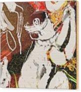 Bihu Dance Wood Print