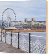 Brighton Pier Wood Print