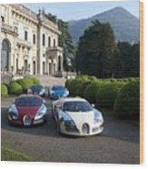 Bugatti Wood Print