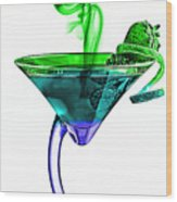Cocktails Collection Wood Print