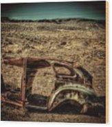 Derelict Transport Wood Print