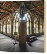 Durham England United Kingdom Uk Wood Print