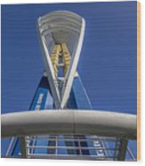 Emirates Spinnaker Tower Wood Print
