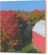 Farming Wood Print