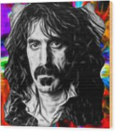 Frank Zappa Collection Wood Print