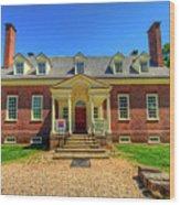 George Mason's Gunston Hall Wood Print