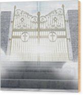 Heavens Gates Wood Print