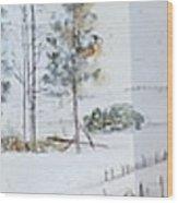 Idaho Landscape Book Wood Print