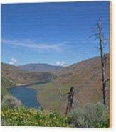 Idaho Landscape Wood Print