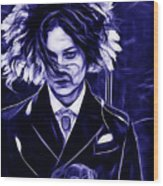 Jack White Collection Wood Print