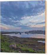 Jonesport, Maine Wood Print