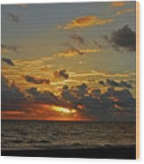6- Juno Beach Wood Print
