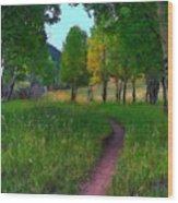 Landscape Wall Wood Print