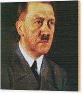 Leaders Of Wwii, Adolf Hitler Wood Print