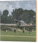 Mark 1 Hawker Hurricane Wood Print