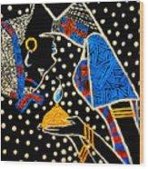 Murle South Sudanese Wise Virgin Wood Print