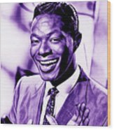 Nat King Cole Collection Wood Print