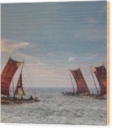Negombo - Sri Lanka Wood Print