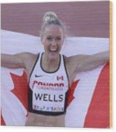 Pam Am Games Athletics Wood Print