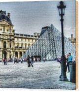 Paris France Wood Print