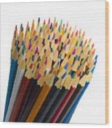 Pencils Wood Print