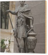 Roman Citizen In Louvre Wood Print