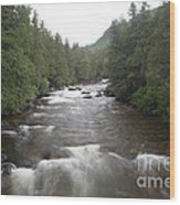 Sainte-anne River, Quebec Wood Print