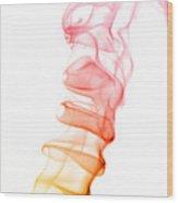 smoke XIX Wood Print