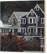 South Terrace Wood Print