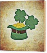 St. Patrick's Day Wood Print