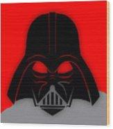 Star War Darth Vader Collection Wood Print