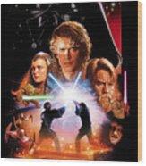 Star Wars Episode IIi - Revenge Of The Sith 2005 Wood Print