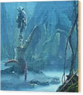 Star Wars Print And Poster Wood Print