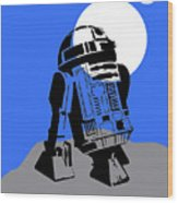 Star Wars R2-d2 Collection Wood Print